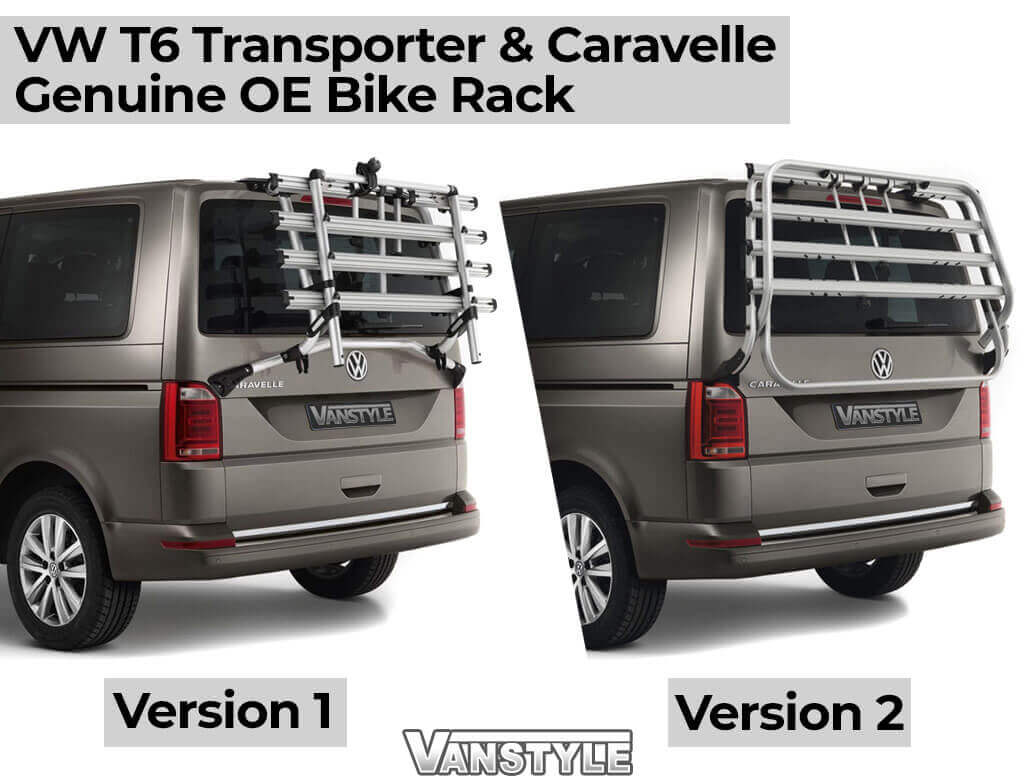 Genuine VW Bike Rack Sticker Foil Set Ver 1 - VW T6 T6.1