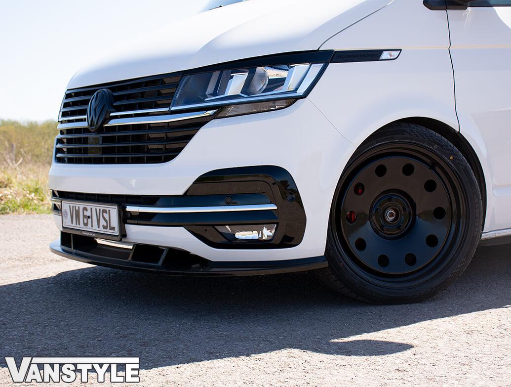 Lower Front Bumper Grille 5pcs Trims - Chrome Ed. - VW T6.1