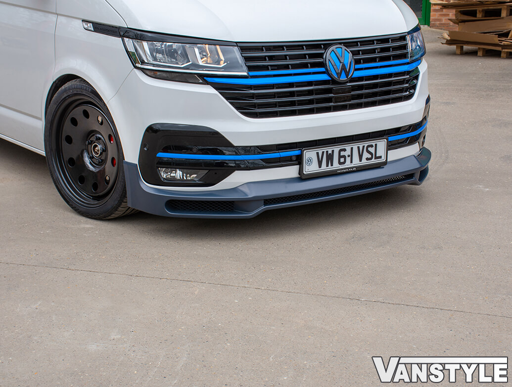 Front Lower ABS Splitter Spoiler - VW T6.1 2019>