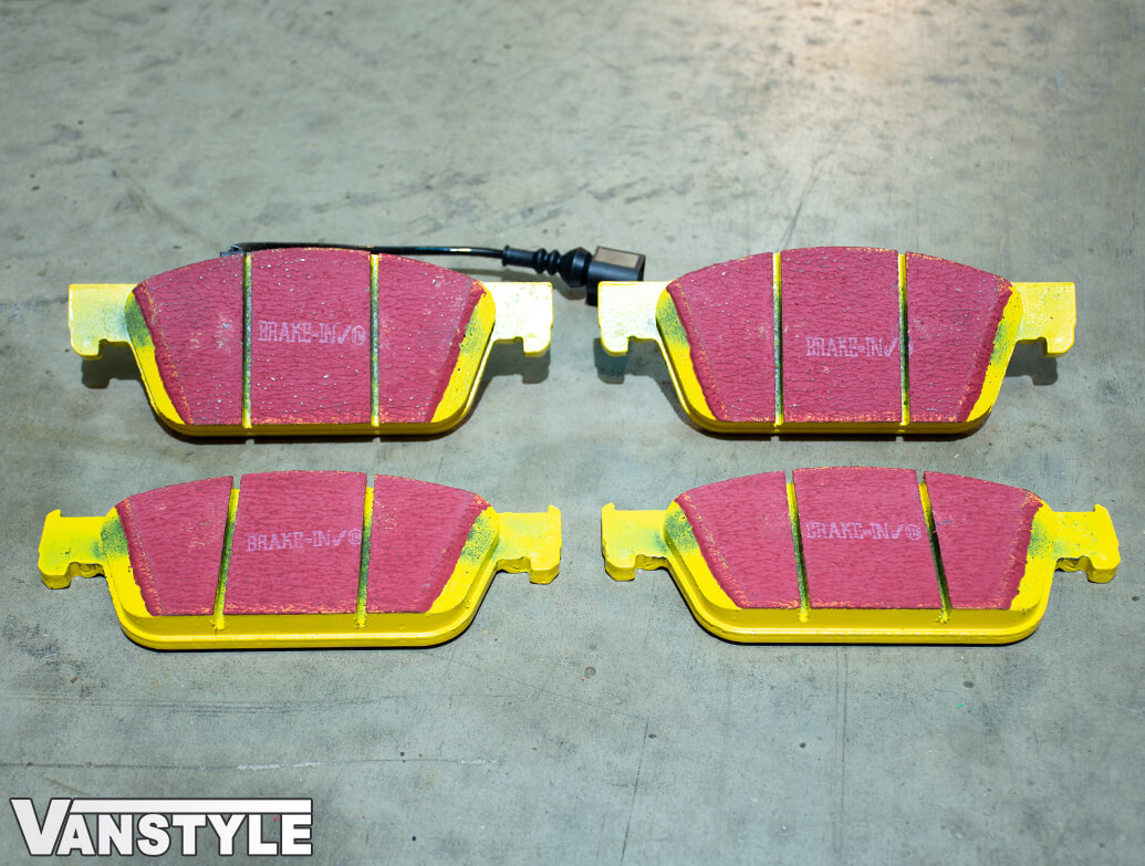 EBC YellowStuff Brake Pads - 340mm & 294mm Discs - VW T5 T6