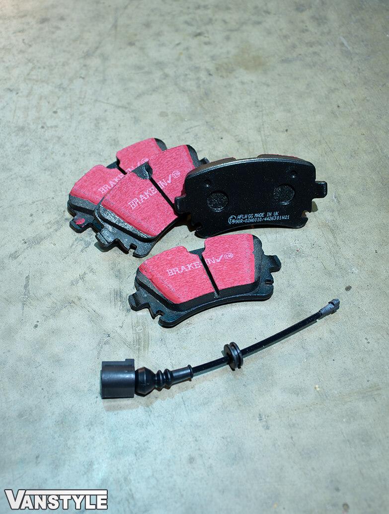 EBC Ultimax2 Brake Pads - 340mm & 294mm Discs - VW T5 T6