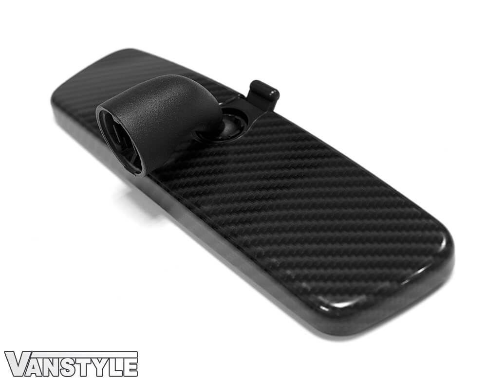 Genuine VW Carbon Fibre Effect Rear View Mirror - Caddy/Crafter