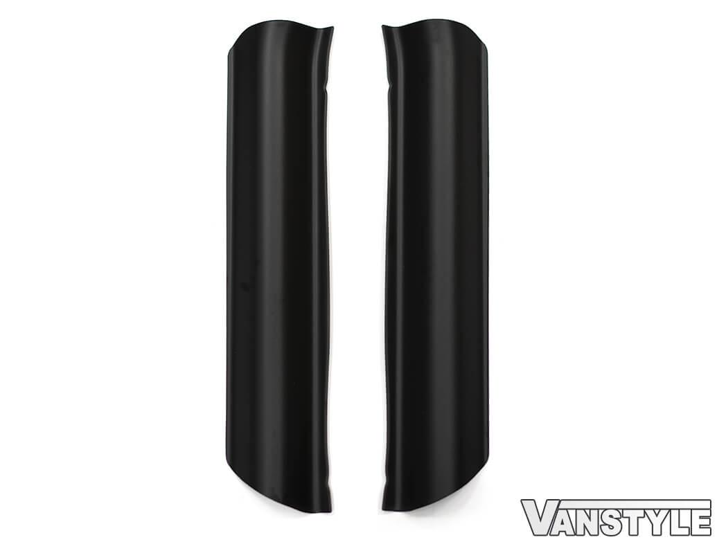 Black ABS Door Sill Guards (Front Doors) Vivaro Trafic Primastar