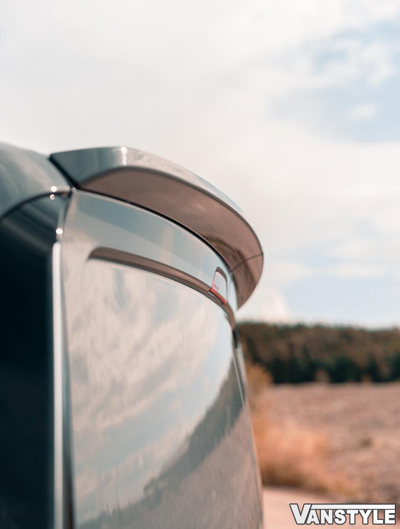Twin Door Rear Spoiler - VW Mk5 Caddy 2021>