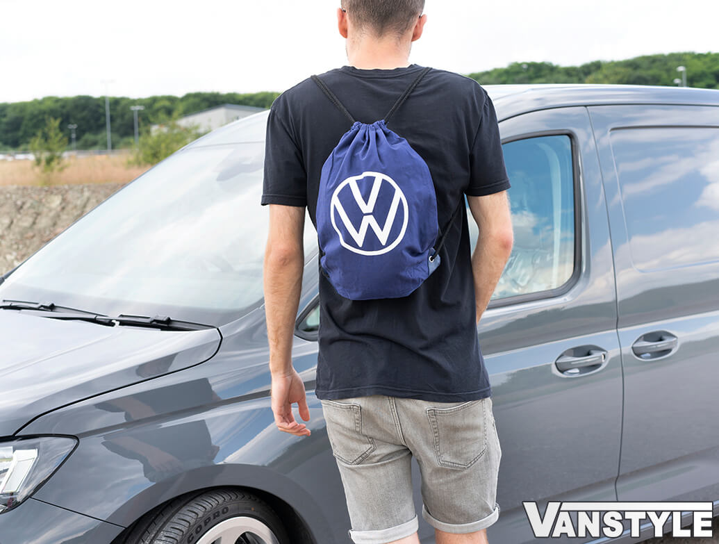 Genuine VW Dark Blue Volkswagen Collection Gym Bag