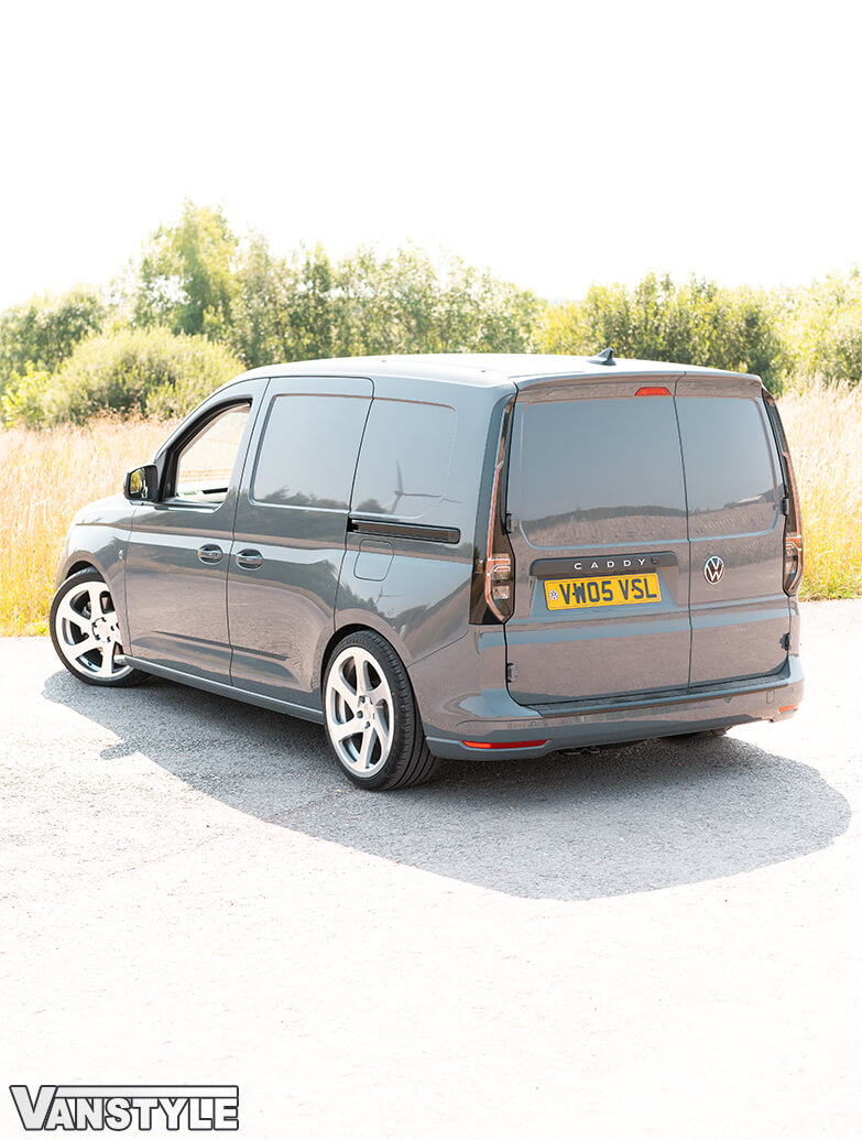 Genuine Black SWB N/S Sliding Door Rail - VW Caddy Cargo 21>