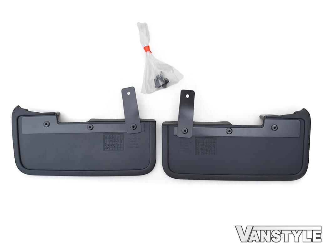 Genuine VW T6 T6.1 15> Front & Rear Mud Flap Sets
