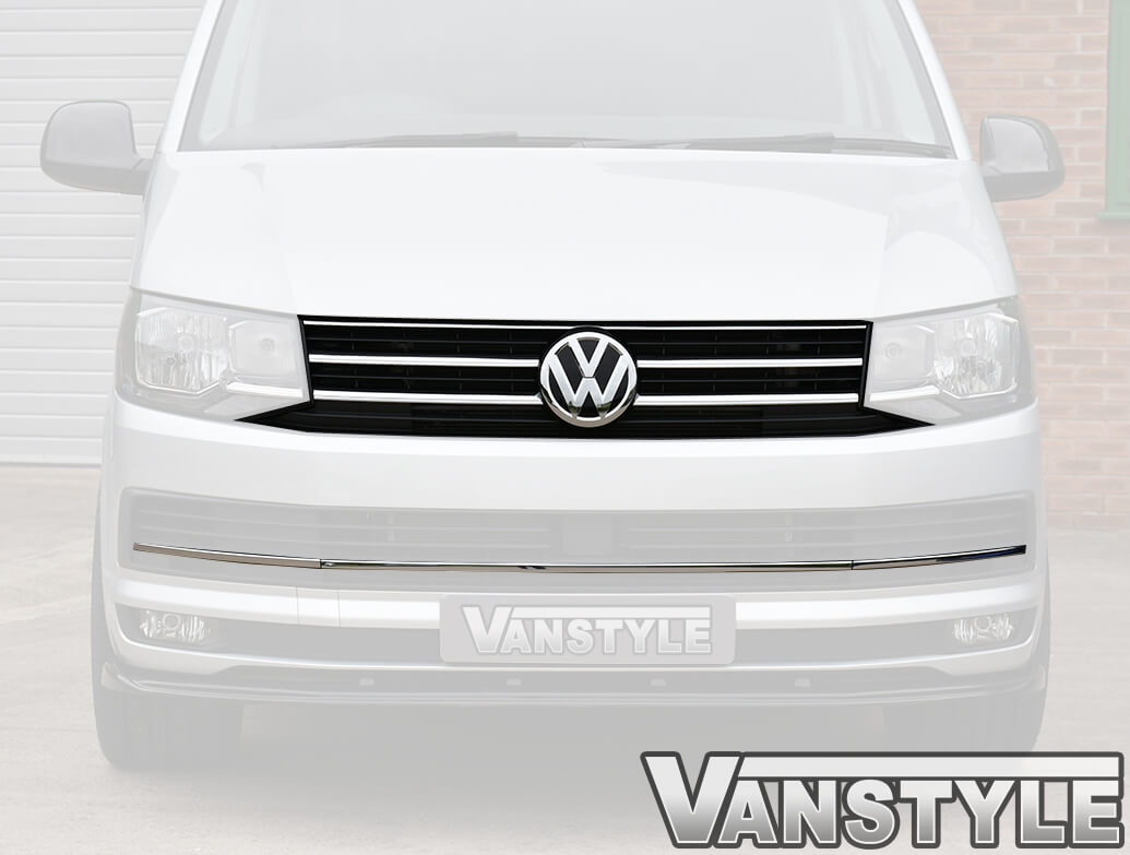 Genuine VW T6 Lower Grille Trim + T6 Caravelle/Sportline Grille