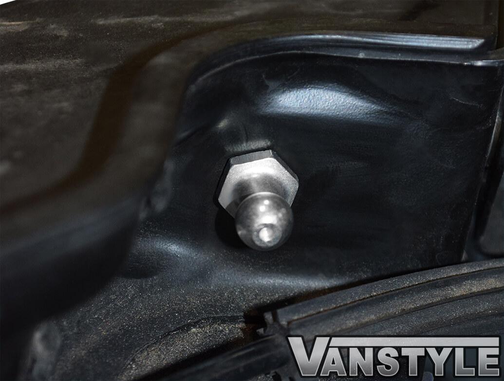 VW T5 / T6 Bonnet Gas Strut + Ball Pin Genuine VW OE
