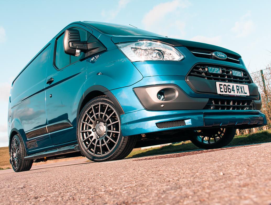 "Calibre T-Sport 18\"" Gun Metal Alloy Wheels - Ford Custom 12>"