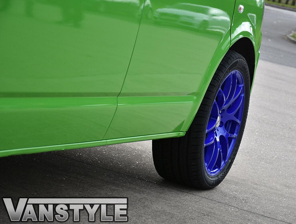 """Calibre Exile-R Sparkling Blue 20\"""" VW T5 T6 Alloy Wheels"""