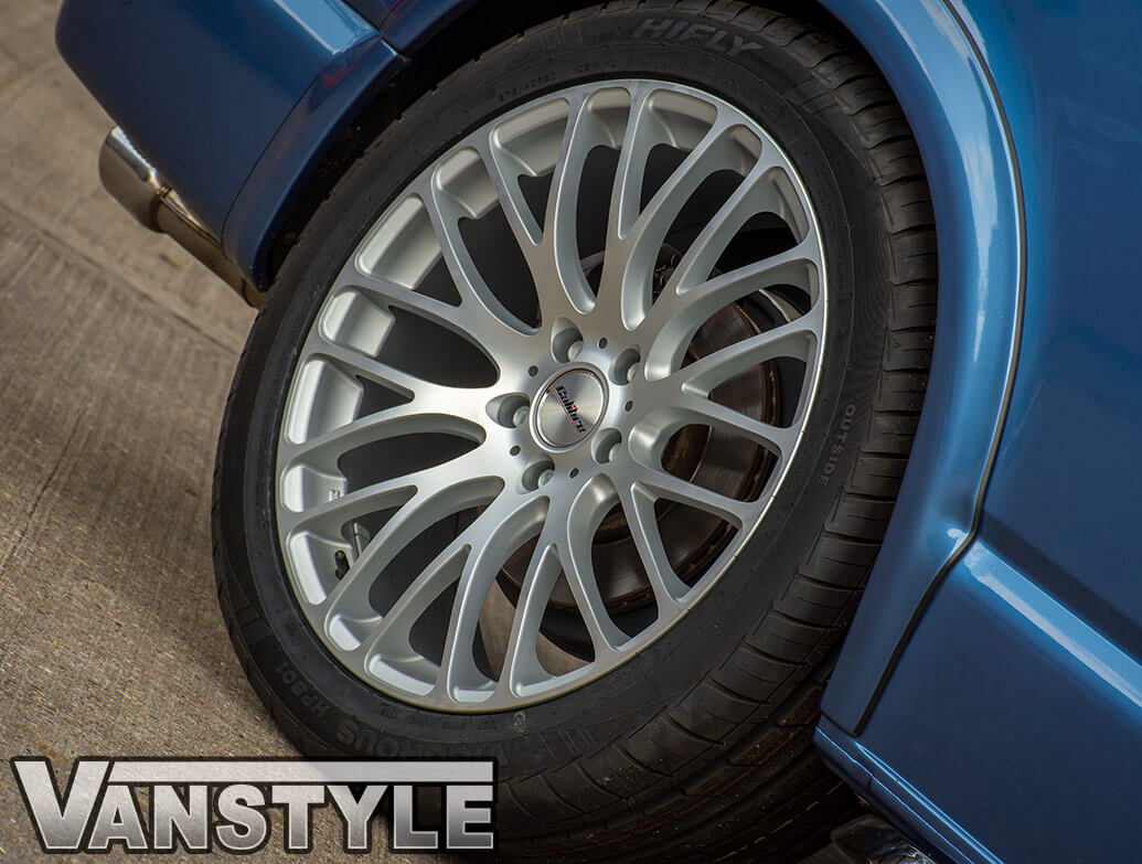 "Calibre Altus Matte Silver 20"" Alloy Wheel Set - VW T5 T6 03>"