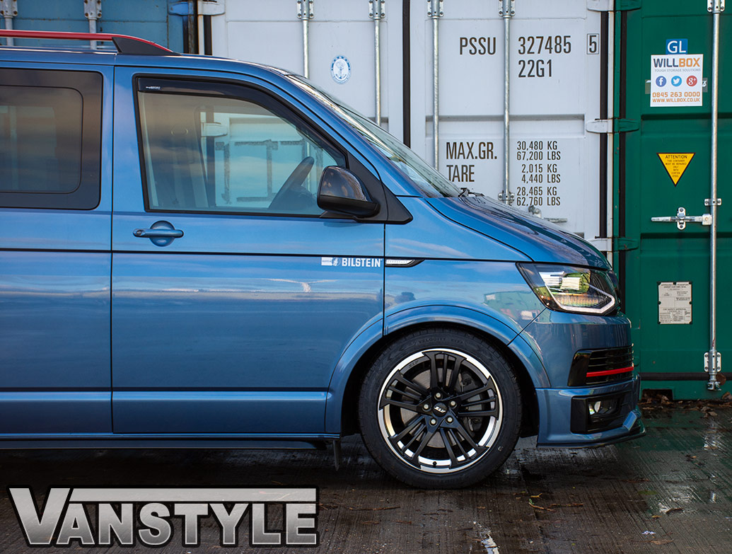 "ATS Prazision 19"" 10J Black/Polished - VW T5/T6 Alloy Wheels"