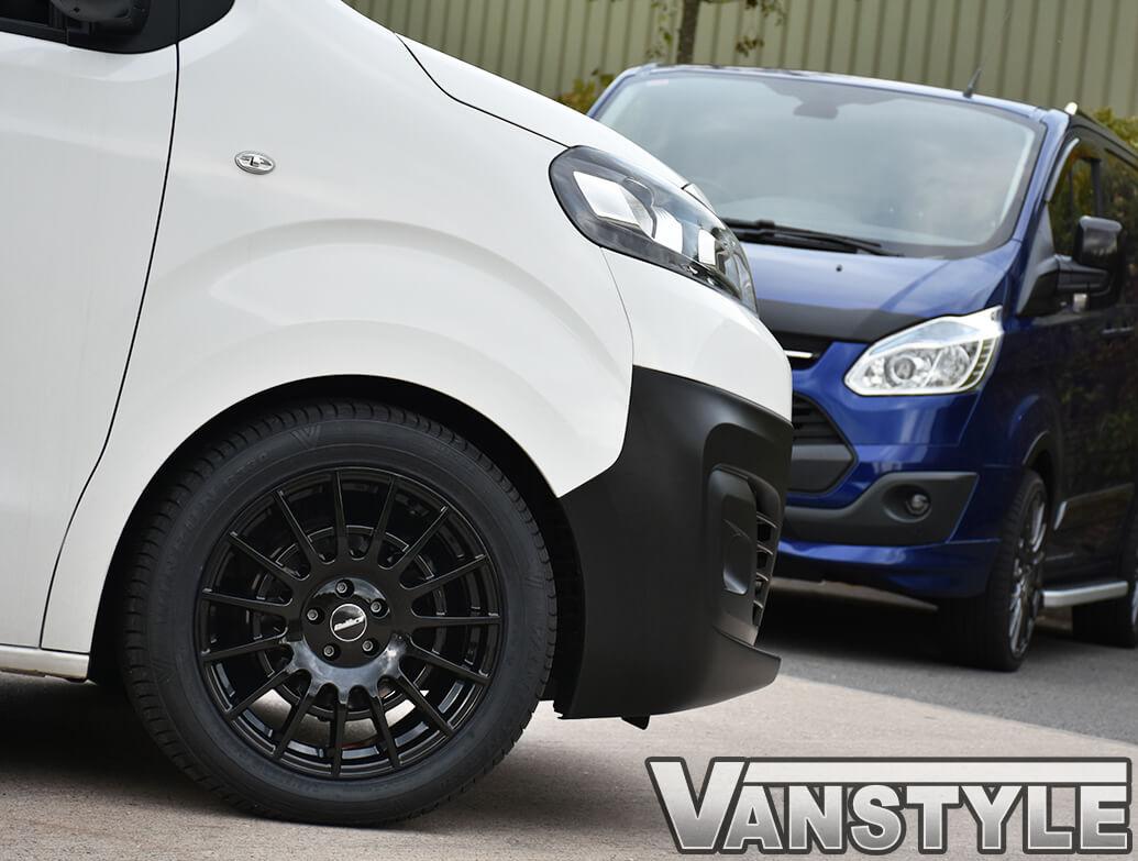 "18\"" Calibre T-Sport Black Alloy Wheels - Dispatch/Expert/Proace"