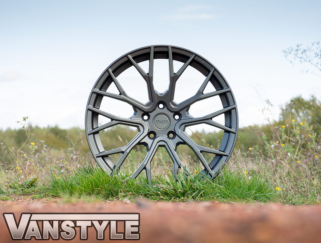 "Velare VLR08 20"" Matte Graphite Load Rated Alloy Wheels - T5 T6"
