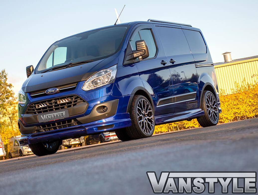 "Velare VLR-T 20\"" Black & Polished Wheels - Transit Custom 12>"
