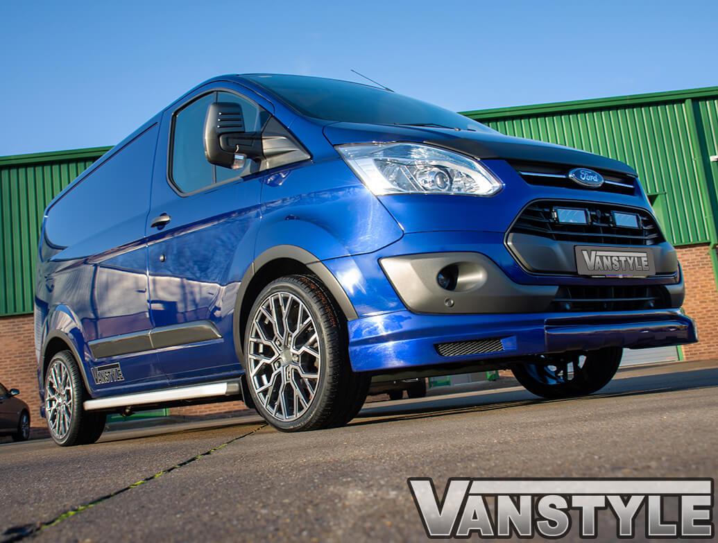 "Velare VLR-T 20\"" Gunmetal & Polished Wheels - Transit Custom 12>"