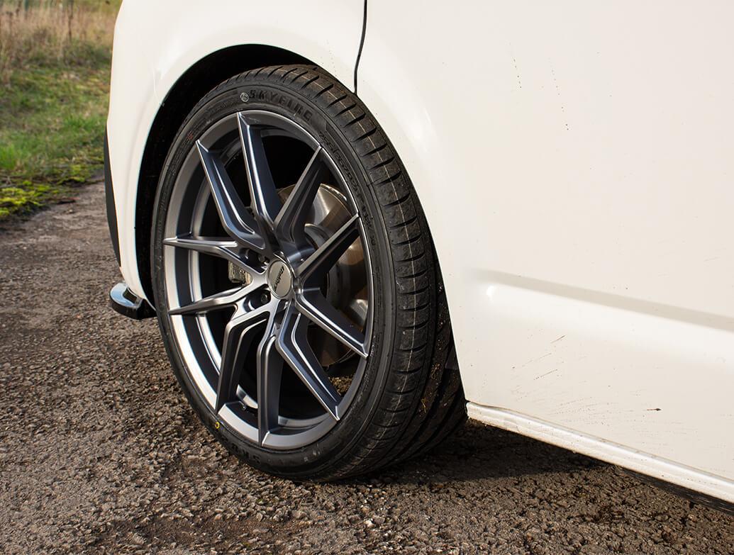 Calibre Verso Gun Metal Load Rated 18in Alloy Wheels - VW T5 T6