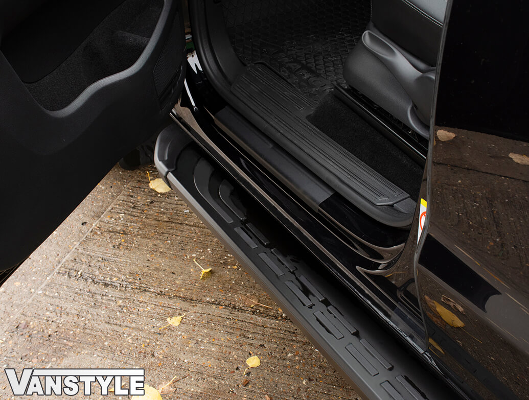 Thoresby Style Alumnium Side Steps - Toyota Proace City LWB 18>