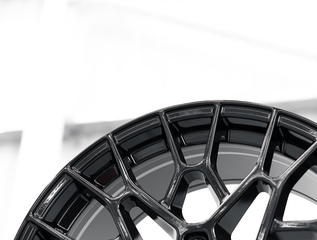 SuperMetal Cell 20x9J 5x120 Gloss Black Wheel & Tyres - T5 T6