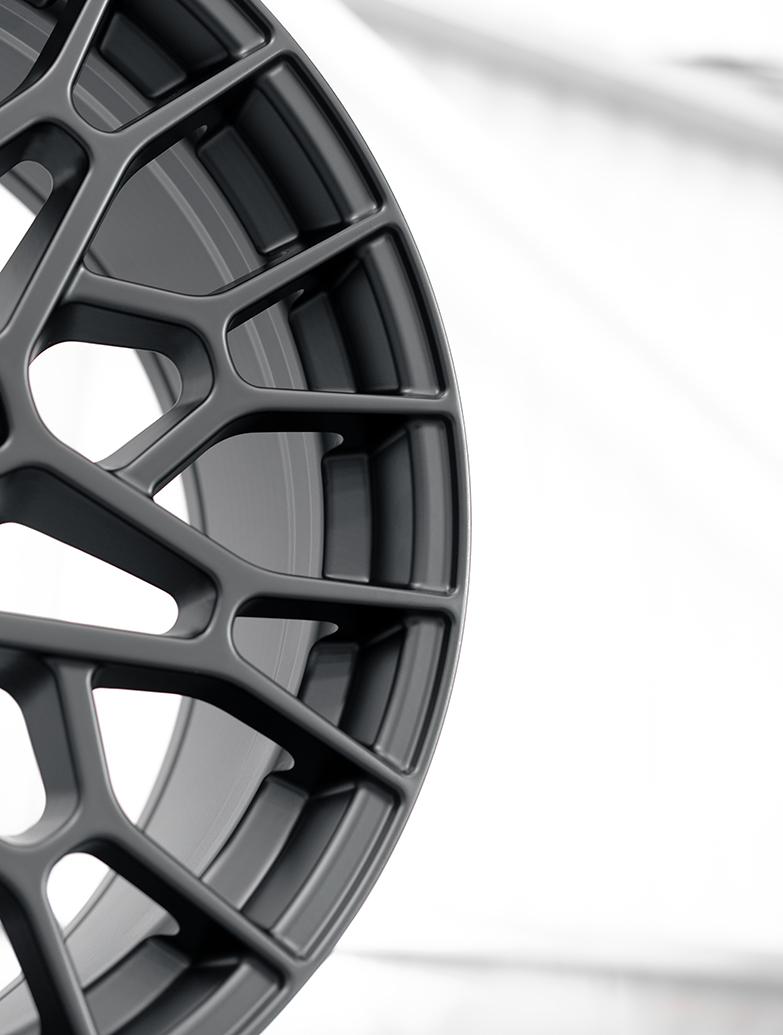 SuperMetal Cell 20x9J 5x120 Matte Black Wheel & Tyres - T5 T6