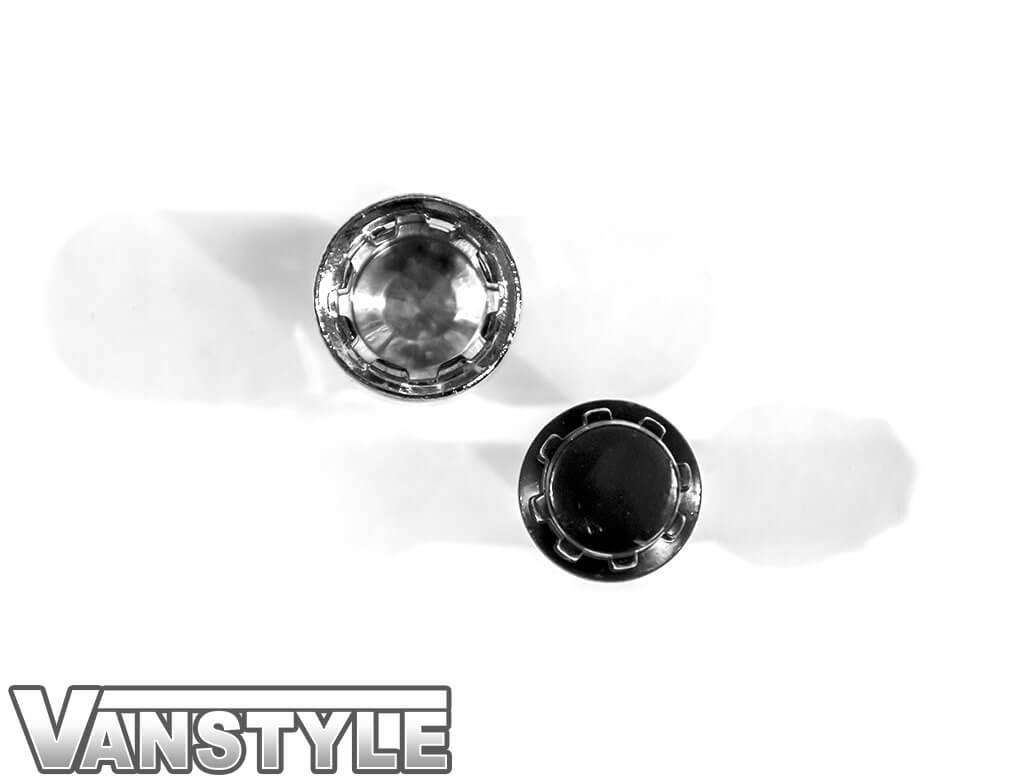 Vanstyle Vauxhall Gloss Black Locking Wheel Bolts - Set of 4
