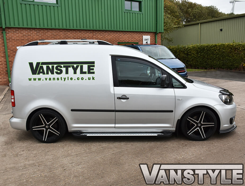 Rufford Style Aluminium Side Steps - Vauxhall Combo 2011>
