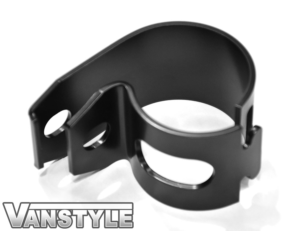 Cobra - Horizontal Tube Clamp Pair - 60mm Universal Fit - Black