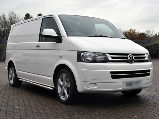 "VW T5 T6 Wheel and Tyre Special Calibre Trek Silver 8x18"" 5x120"