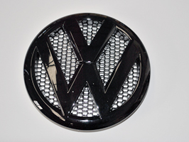 VW T5 Replacement Front Badge Chrome, Black or White 2010-15