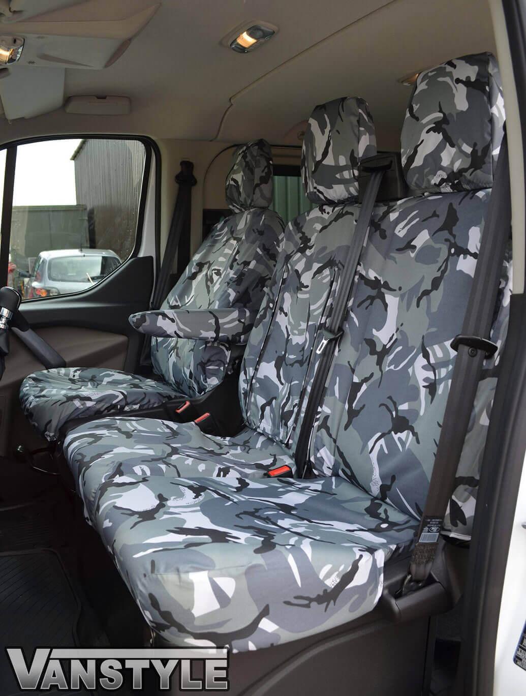 Custom 2012 Tailored Seat Covers Urban Camo Armrest