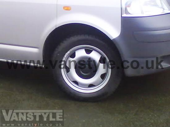 Genuine OE Steel 17 VW T5 T6 Wheel Package - Vanstyle